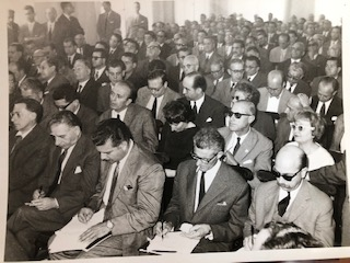 Athens Press Conference 1950s